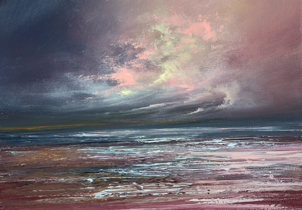 The Gathering Storm IV by philip raskin -  sized 23x17 inches. Available from Whitewall Galleries